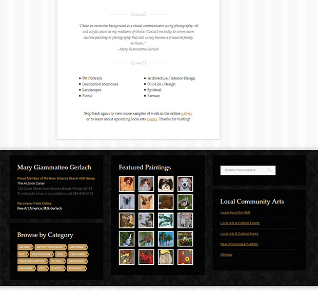 artist-home-page-design-lower
