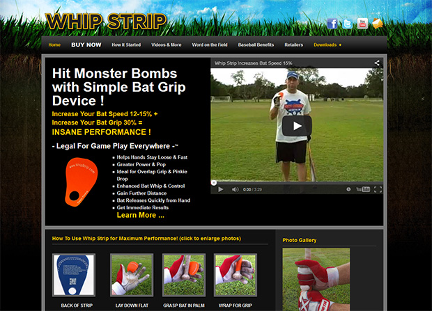 sporting-device-promotional-web-site