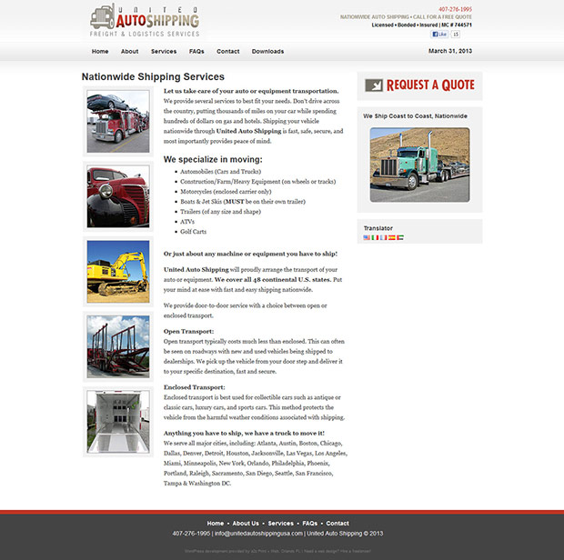 shipping-logistics-web-design-services